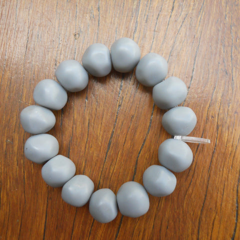 Grey Nugget Bracelet