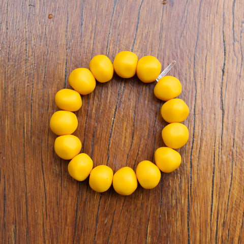Yellow Nugget Bracelet