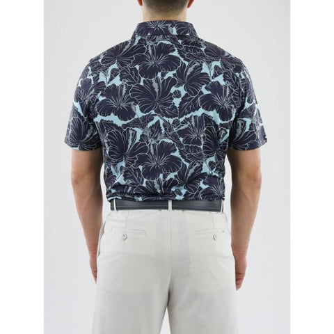 Image of Straight Down Men's Kapalua Polo Back