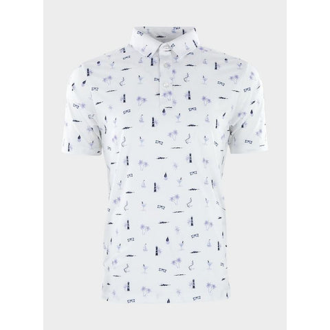 Image of Straight Down Men's Le Sol Golf Polo