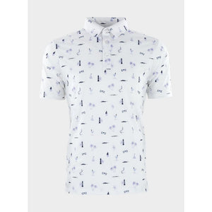 Straight Down Men's Le Sol Golf Polo