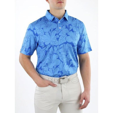 Image of Straight Down Men's Kapalua Polo Front