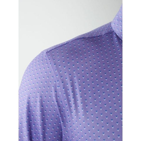 Straight Down Men's SD Bermuda Polo Side