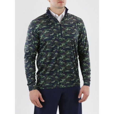 Image of PULLOVER SD 60368 BUNKER 1/4 ZIP Front