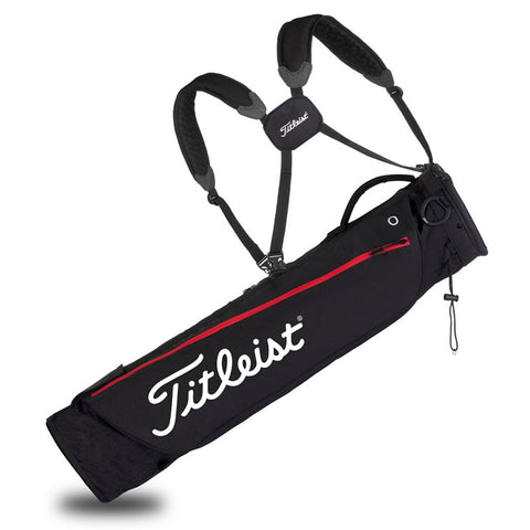 Image of Titleist Carry Golf Bag red/black
