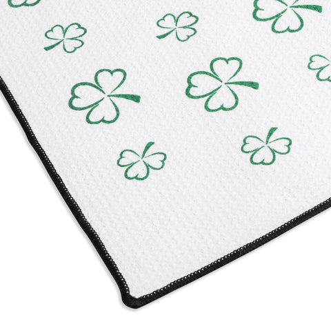 Titleist St. Patrick'S Clover Microfiber Towel Limited Edition
