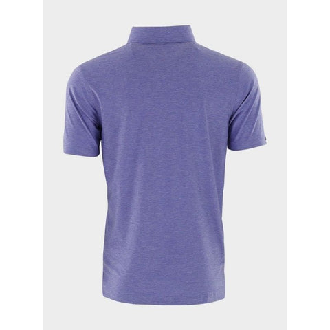 Straight Down Men's Media Polo Grape