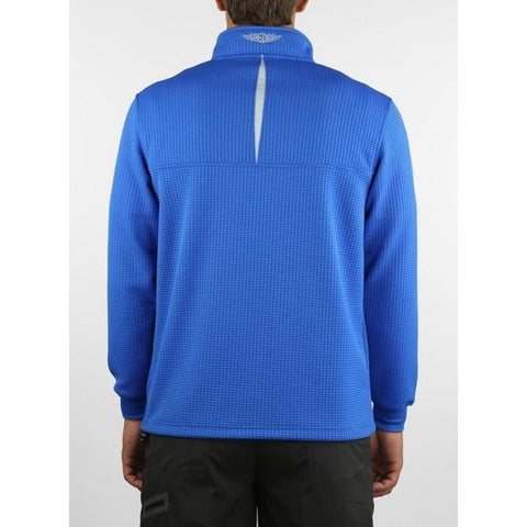 Image of PULLOVER SD 60339 OPTIC 1/2 ZIP Back