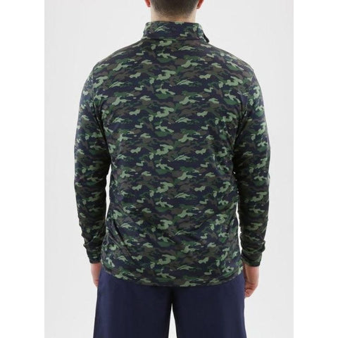 Image of PULLOVER SD 60368 BUNKER 1/4 ZIP Back