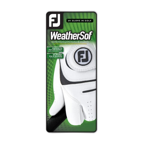 FootJoy Men's Weathersof White