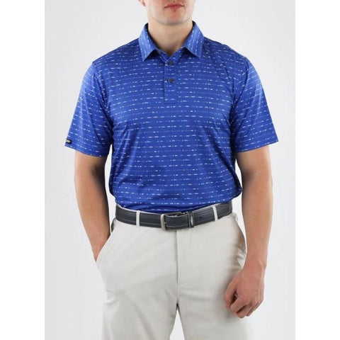 Straight Down Maverick Polo Front