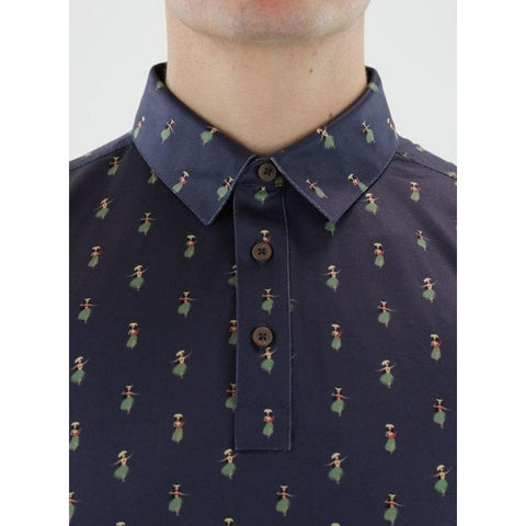 Image of Straight Down Men's Hula Polo