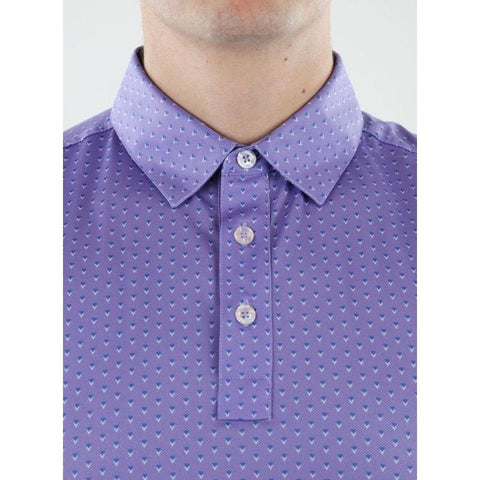 Straight Down Men's SD Bermuda Polo