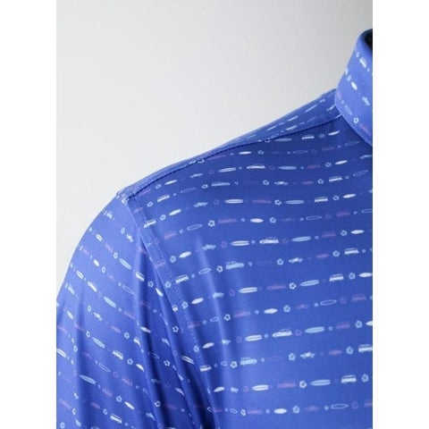Straight Down Maverick Polo Shoulder view