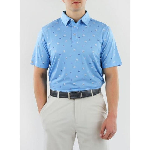 Straight Down Men's Shirt Makapolo front