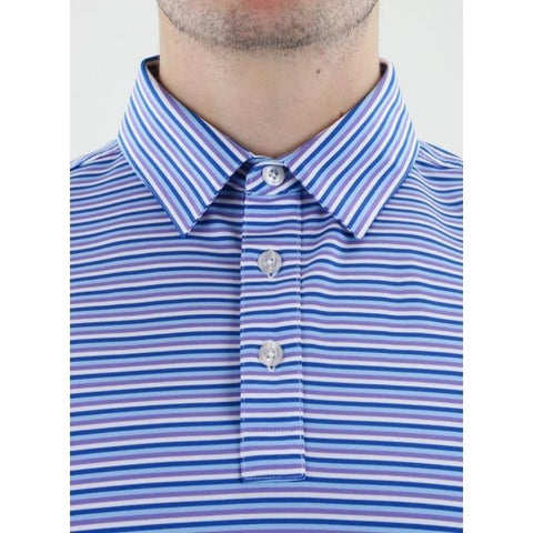 Straight Down Men's Conrad Stripe Polo