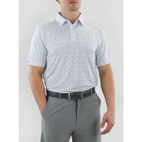 Straight Down Skipper Polo Front