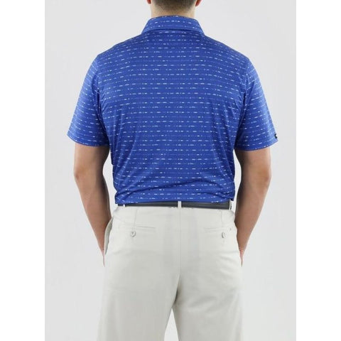 Image of Straight Down Maverick Polo Back