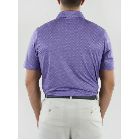 Straight Down Men's SD Bermuda Polo back
