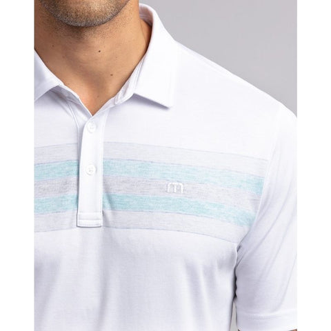 TRM Men's Transcontinental Polo Shoulder view