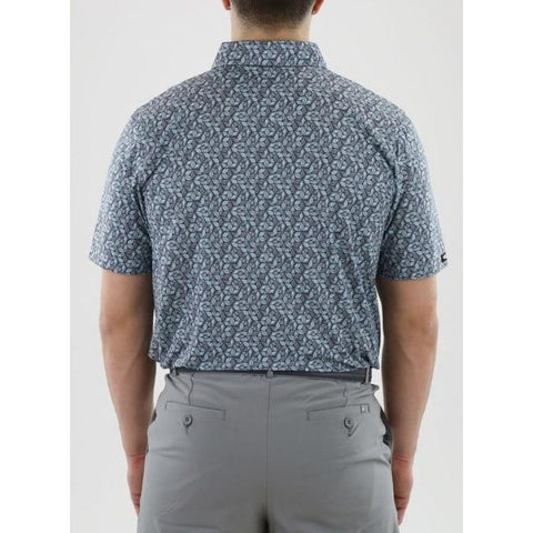 Image of Straight Down Men's Cabot Polo Back