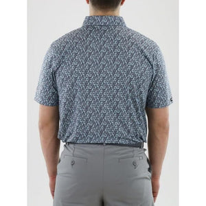 Straight Down Men's Cabot Polo Back