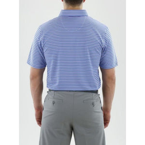 Straight Down Men's Conrad Stripe Polo back
