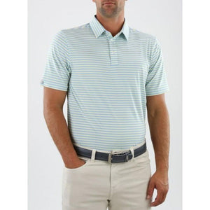 Straight Down Men's Conrad Stripe Polo front