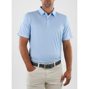 Straight Down Men's Polo Radius