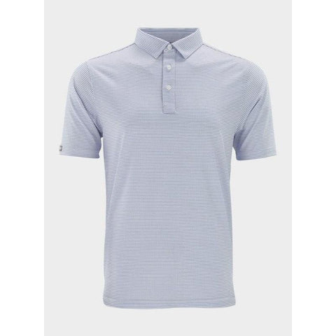 Straight Down Men's Kestner Polo blue front