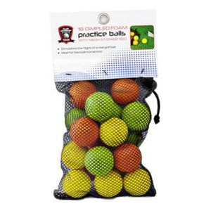 Club Champ Sports Tour Dimpled Foam Practice Golf Balls 18pk