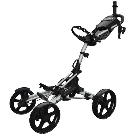 Clicgear 8.0 golf push cart silver