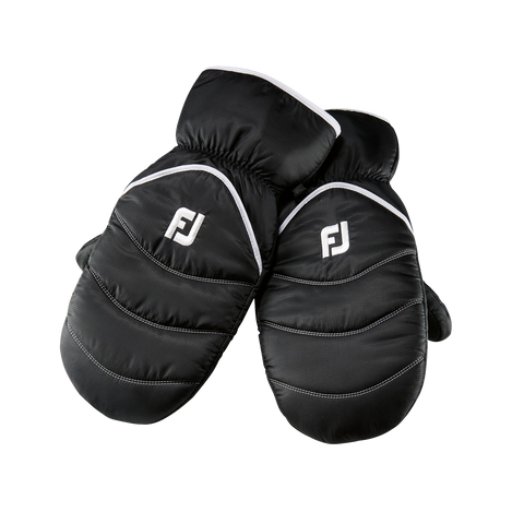 FootJoy Winter Cart Mitts Black 32087