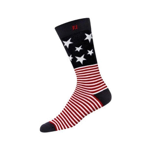 Foot Joy Prodry Crew Stars And Stripes Socks