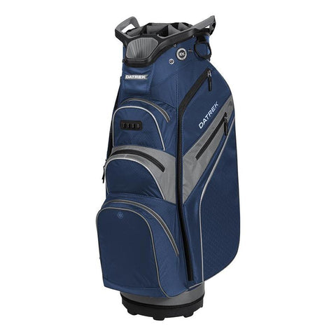 Datrek Lite Rider Pro Cart Bag Navy Charcoal Silver