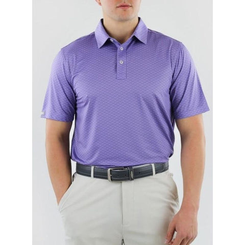 Straight Down Men's SD Bermuda Polo Front