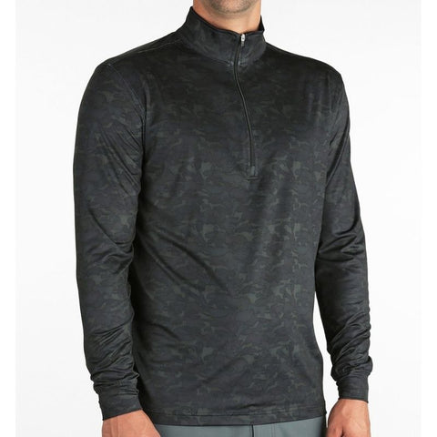 Straight Down Men's Pullover Bunker 1/4 Zip