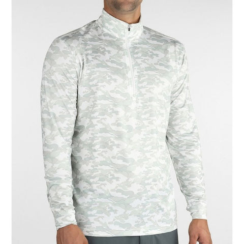 Image of Straight Down Men's Pullover Bunker 1/4 Zip