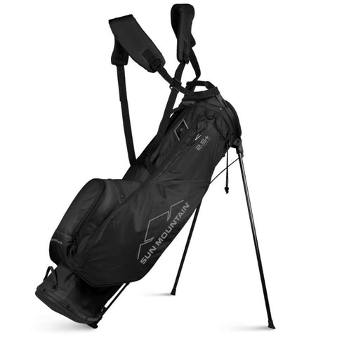 Sun Mountain 2.5+ 14-Way Stand Bag Black