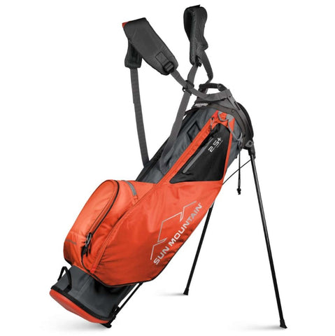 Sun Mountain 2.5+ 14-Way Stand Bag Gun Metal Inferno