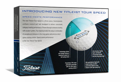 Image of Titleist Tour Speed Golf Balls