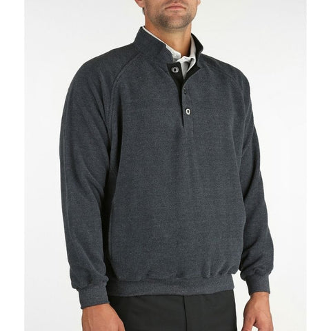 Straight Down Men's Pullover Foothill Fleece