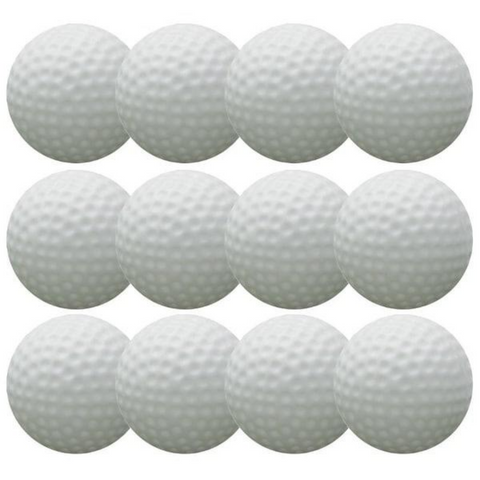 12 pack Solid Sokker Golf Balls
