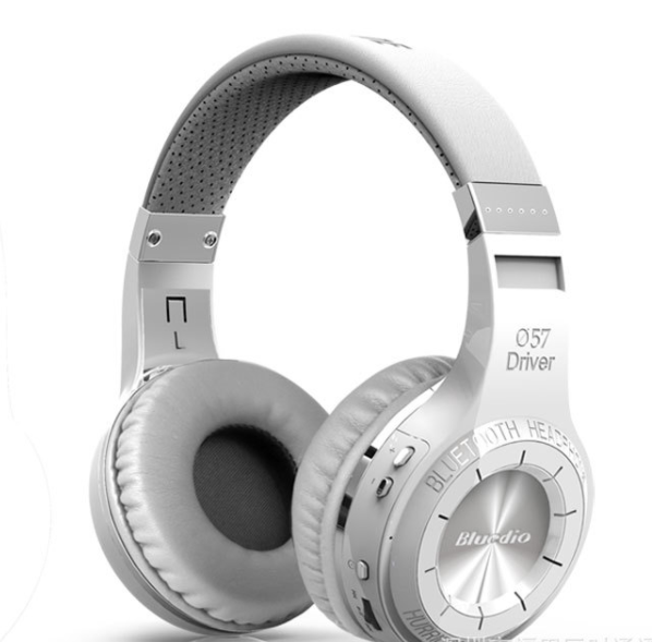 Bluedio headphones White/silver