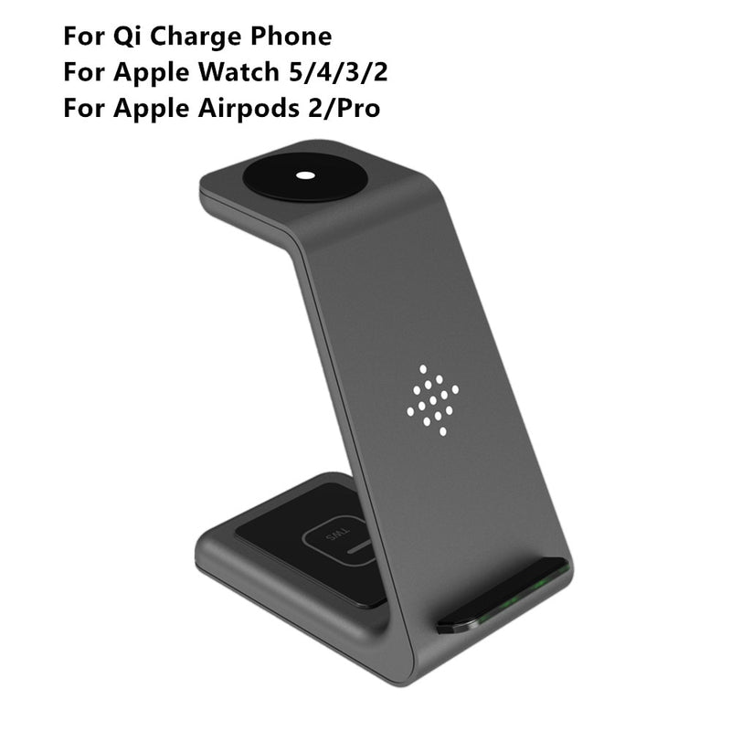 3in1 Wireless Charger Standing Dock Station
