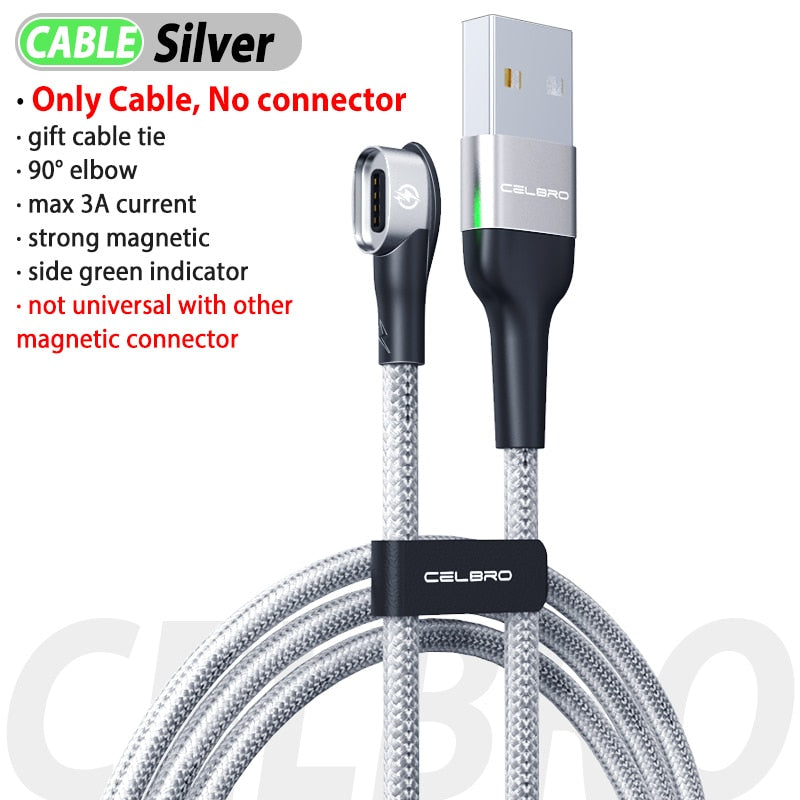 Magnetic Type C Phone Cable Charging
