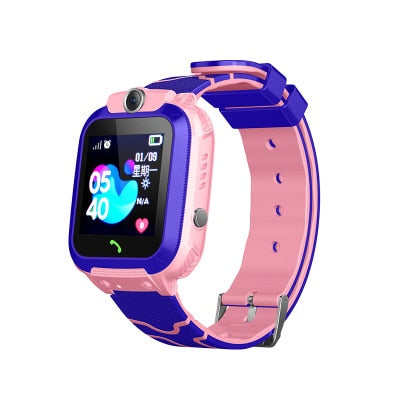 Multifunction SOS GPS/LBS location Smart Watch for kids