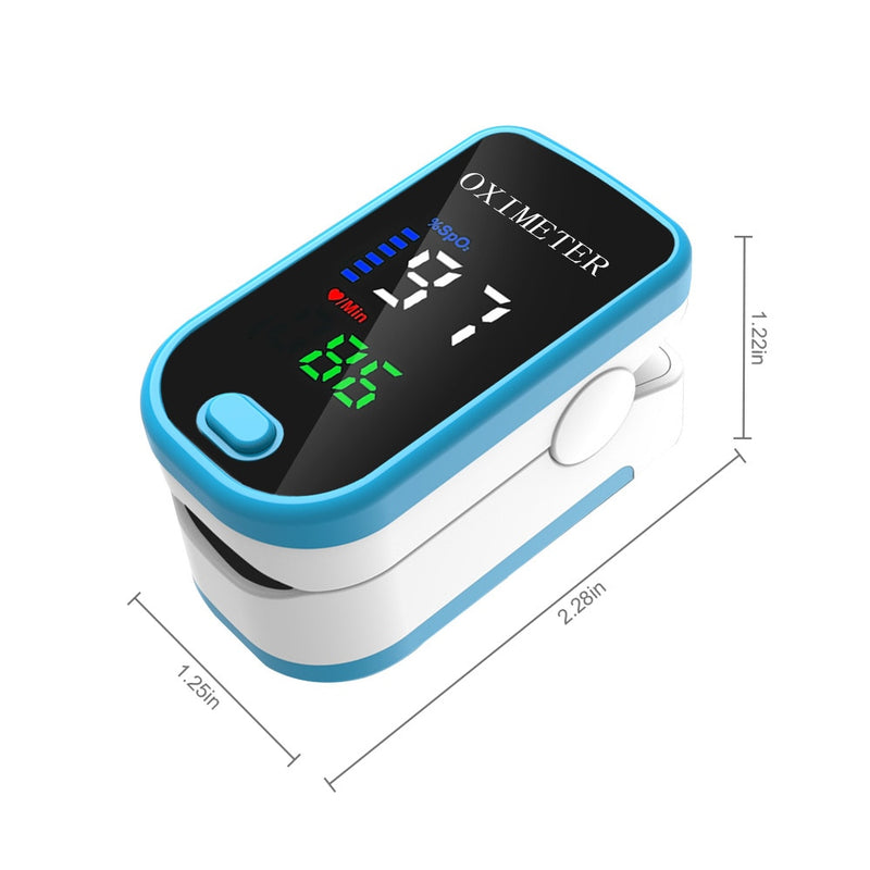 High Quality Finger Pulse Oximeter Blood Oxygen Monitor