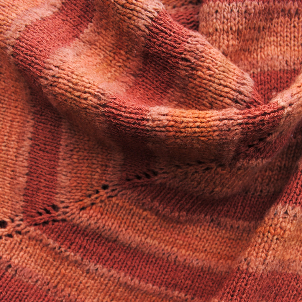 Madder Petalled Shawl