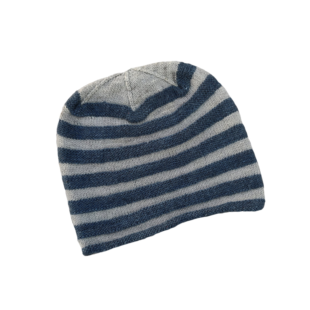 Striped Cap - Grey